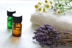 Aromatherapy - essential-oils-herbs-lavender-chamomile