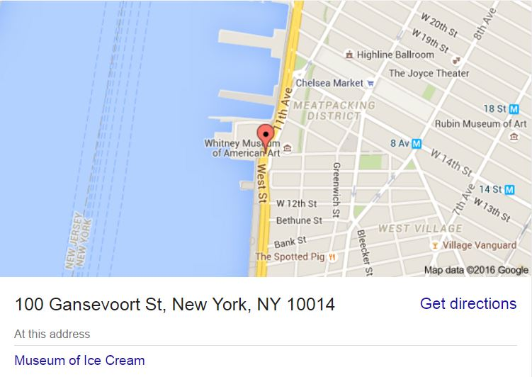Museum of Ice Cream - 100 Gansevoort St, New York, NY 10014