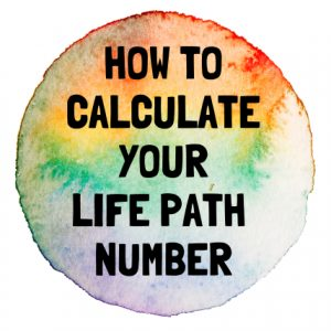 life path number - how to calculate it