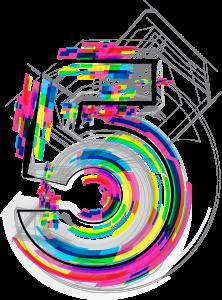 font-illustration-number-5-vector-illustration_m1k_swj__l