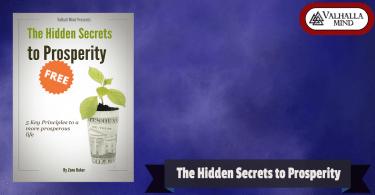 Secrets to Prosperity
