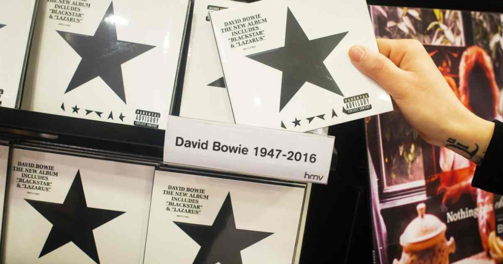 David Bowie's Blackstar Sleeve