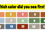 Color Test - The Colors You See Can Determine Your Dominant Emotion